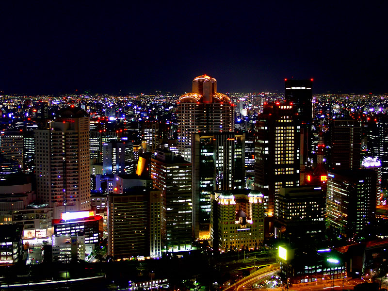 Osaka_-_Night_View