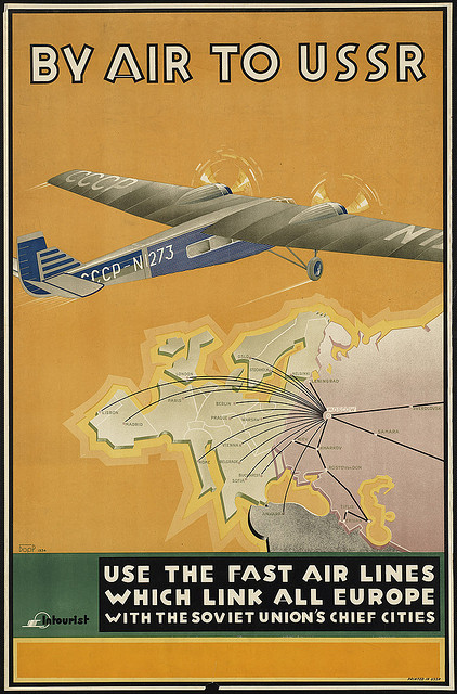fly to USSR