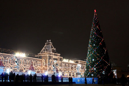 New year in Russia