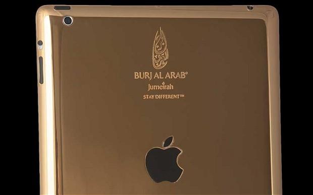 Gold-Plated iPad
