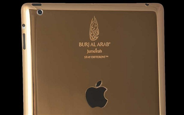 Gold-Plated iPad