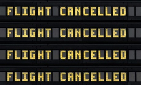 Ryanair cancels 190 flights