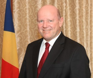 Official Photo - Minister Alain St.Ange