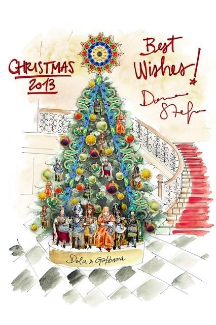 Dolce & Gabbana Christmas Tree