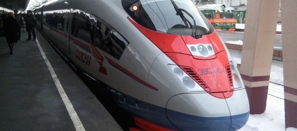Siemens Russia high-speed