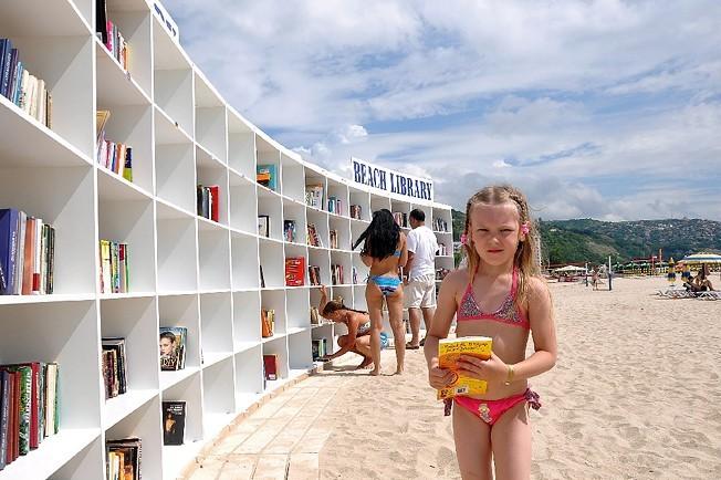 Beach E-Library