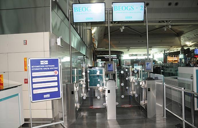 Atatürk Airport e-gate
