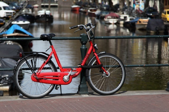 bicycle travelling with bicycles