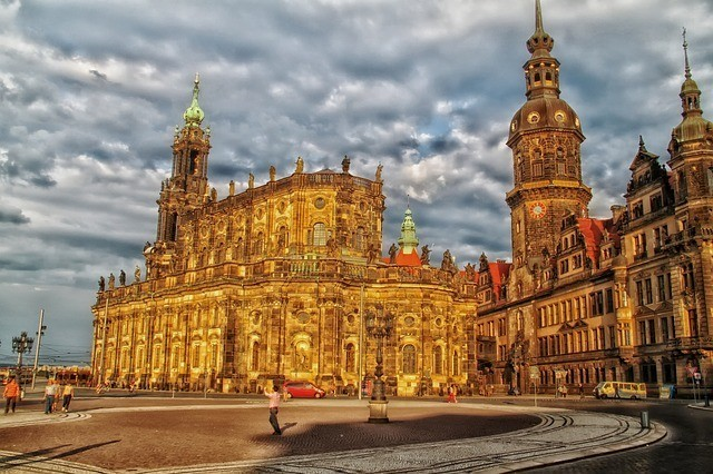 Cathedral in Dresden