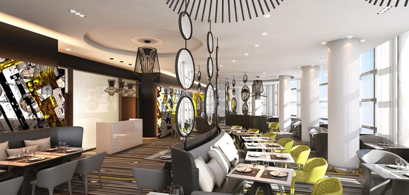 Meli paris la d fense to open in march rus tourism news for Miroir restaurant paris menu