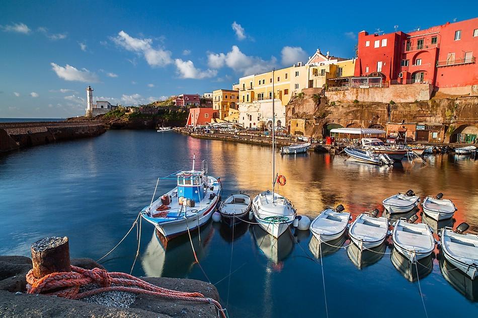Ventotene Island Italy