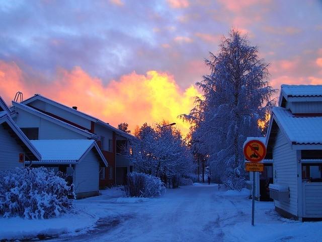finland Enontekiö Scandinavia