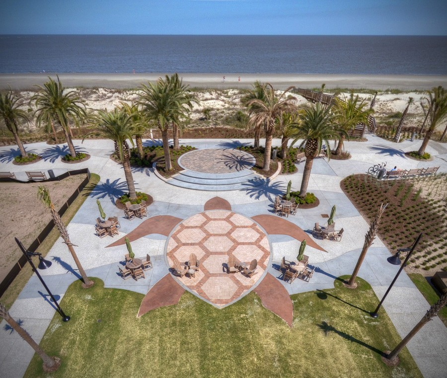 The Westin Jekyll Island Is Cornerstone Of S Beach Village Project Which Includes An Oceanfront Promenade Green Restaurants