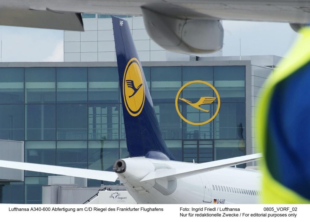 A340-600 Lufthansa fleet