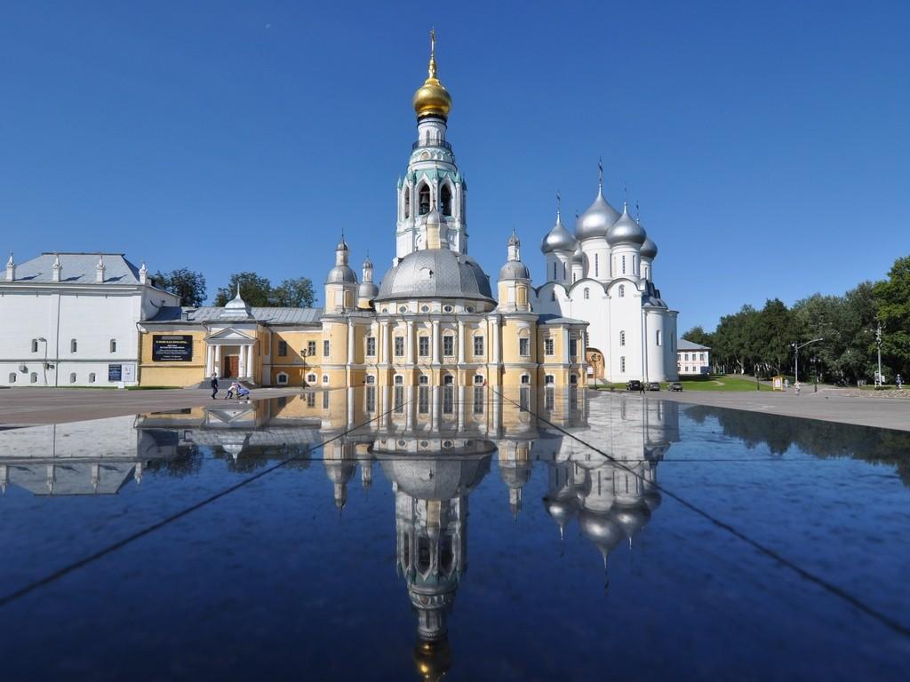Vologda Russia Intourist Thomas Cook