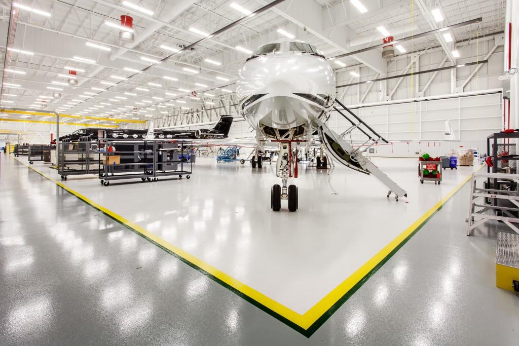hangar Gulfstream