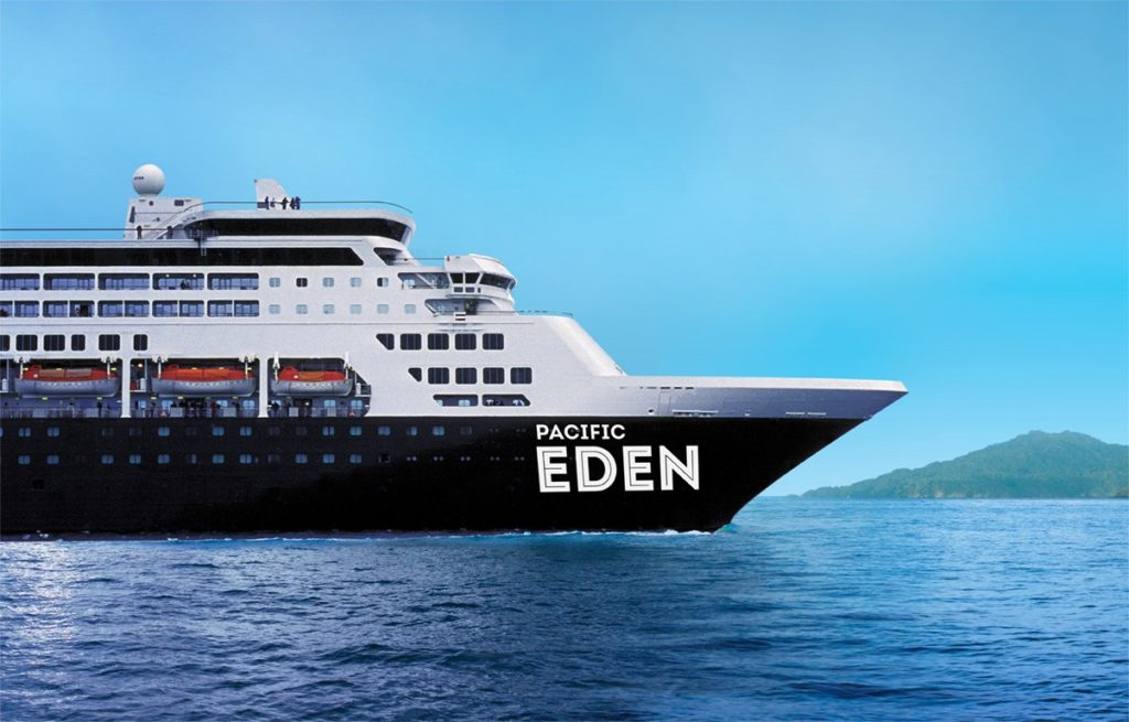 Western Australian Debut For Australias Latest Ship Pacific Eden - Cruise ship pacific