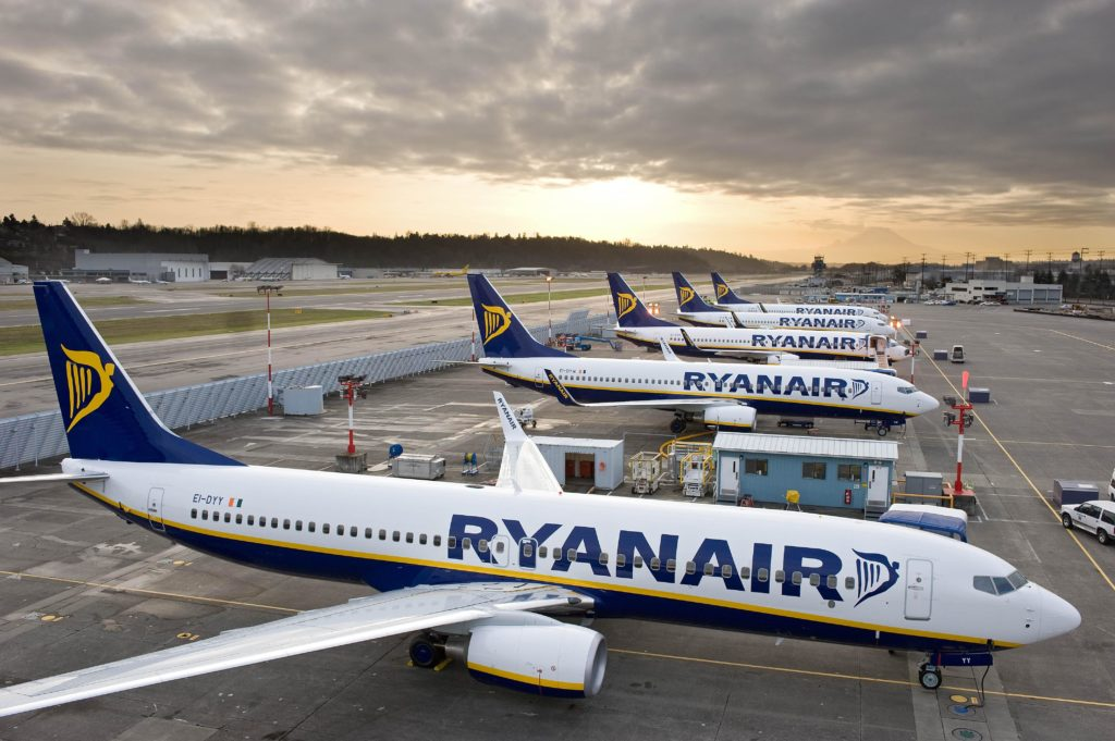 Ryanair finally provides full list of cancellations