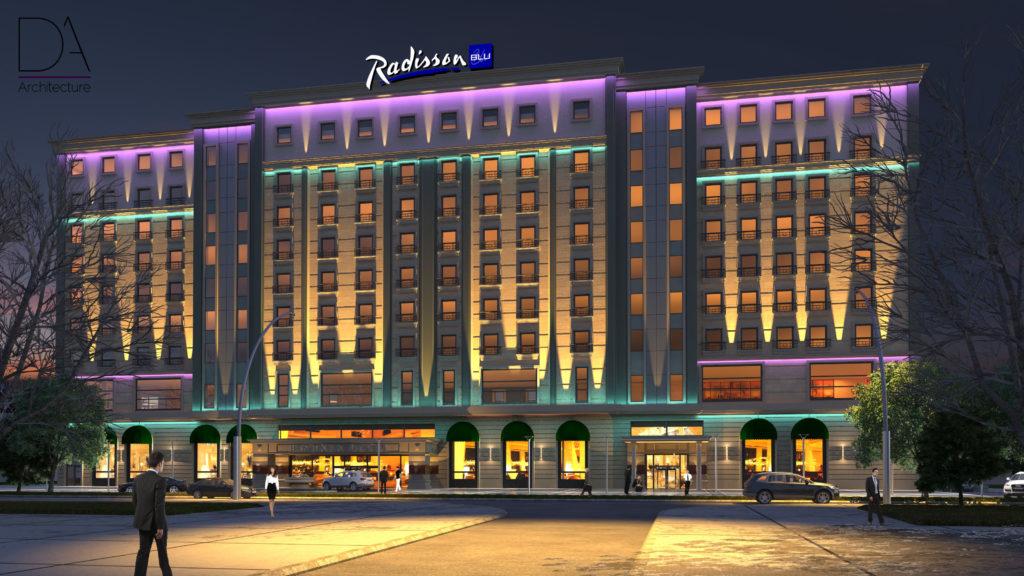 Radisson hotel in Bishkek