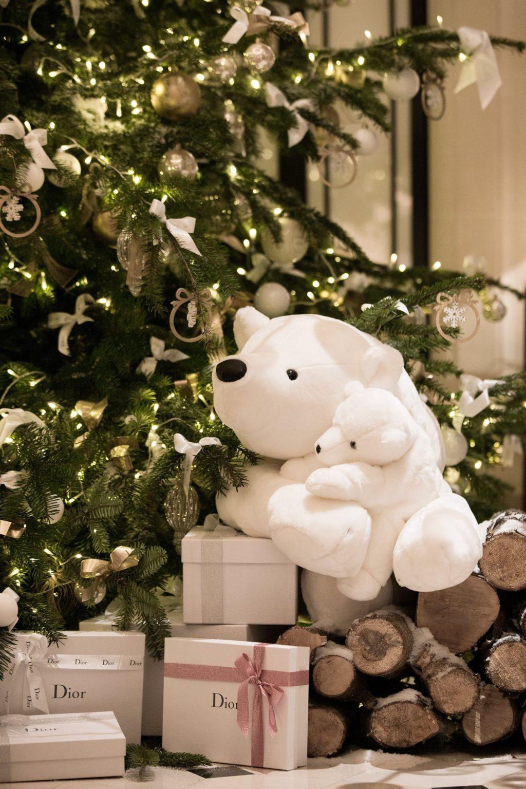 Dior Christmas Tree