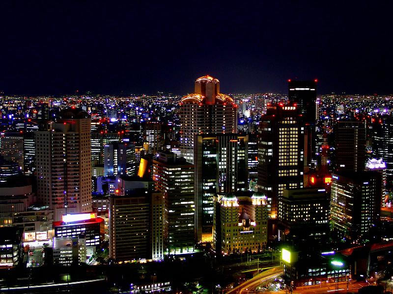 Osaka_-_Night_View
