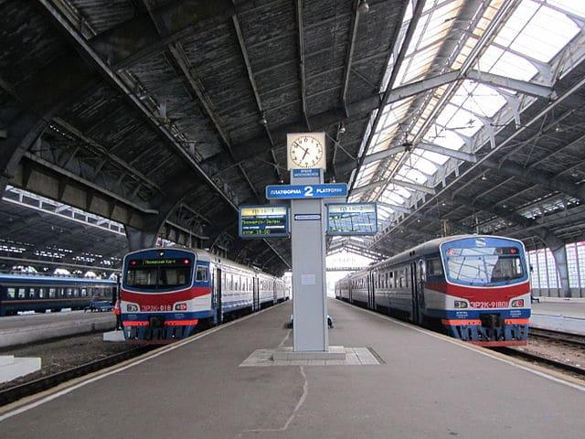 Kaliningrad-Yuzhny Railway Station