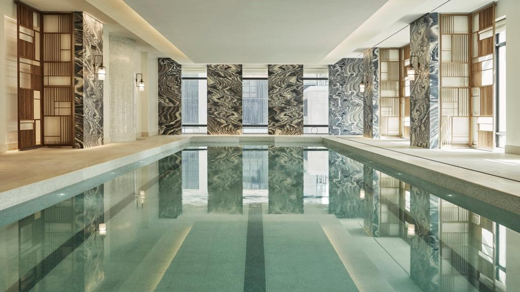 Four seasons hotel new york downtown unveils the spa rus for 24 hour nail salon new york city