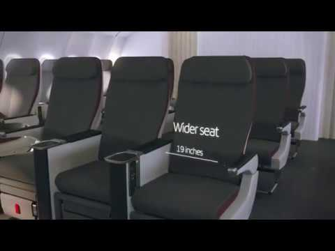 Iberia Presents First Aircraft With New Premium Economy