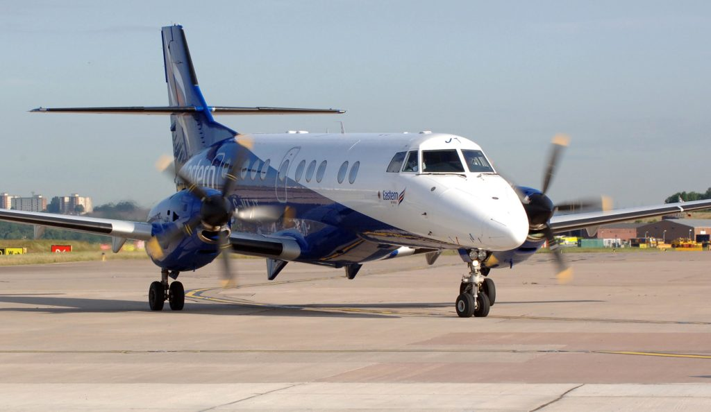Service from Newcastle Eastern Airways