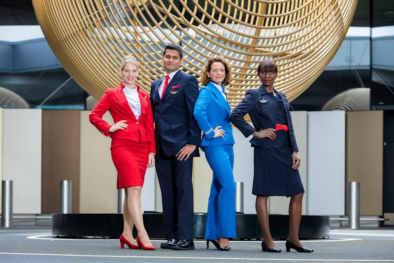 delta Flight Attendants Virgin Atlantic