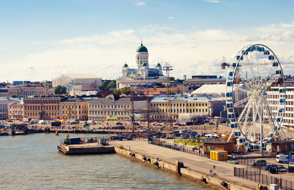 helsinki Finland Capital of Smart Tourism
