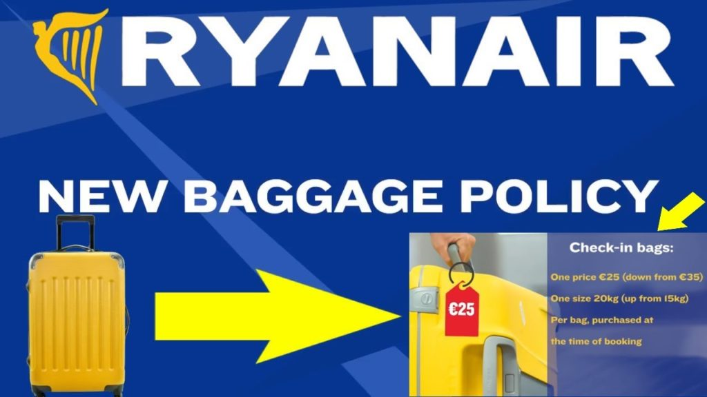 Ryanair New Hand Luggage Restrictions Start Next Week Rus Tourism News