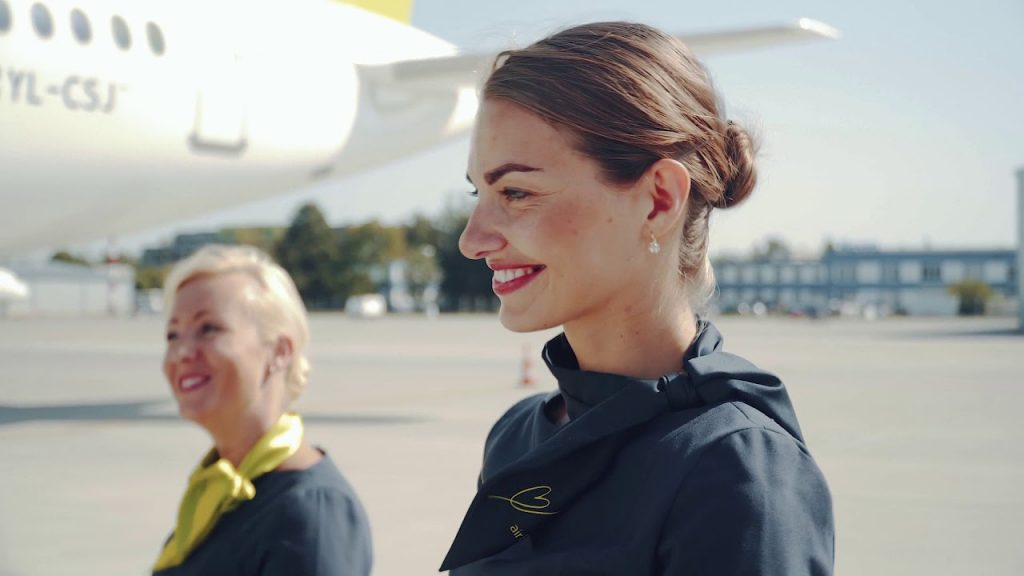 Cabin Crew Uniforms airBaltic