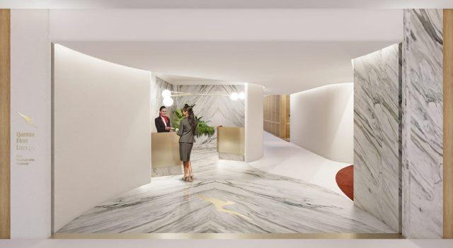 qantas first lounge