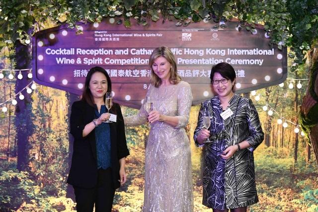 HK IWSC Cathay Pacific Hong Kong International Wine & Spirit Competition