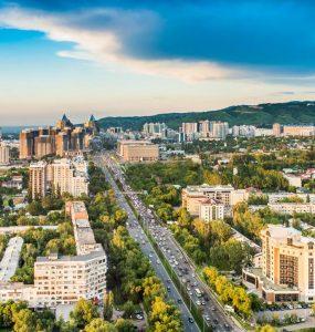 Flights to Almaty