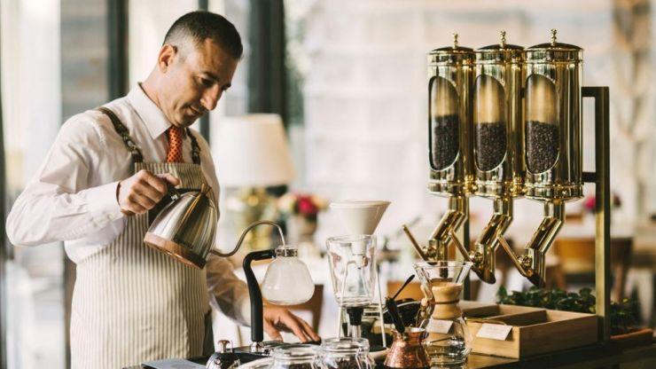 Four Seasons Hotel Milano coffee