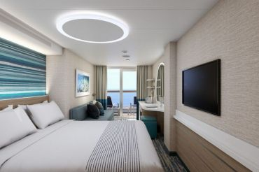 Staterooms on Mardi Gras