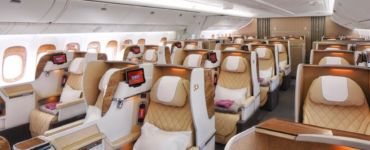 B777 Business Class Emirates