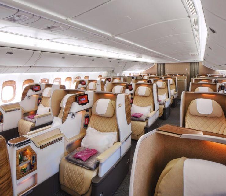 B777 Business Class Emirates