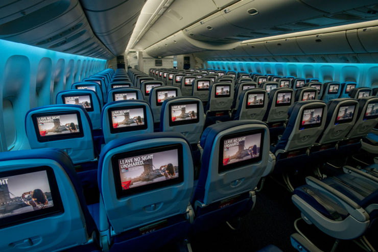 main cabin Middle Seats