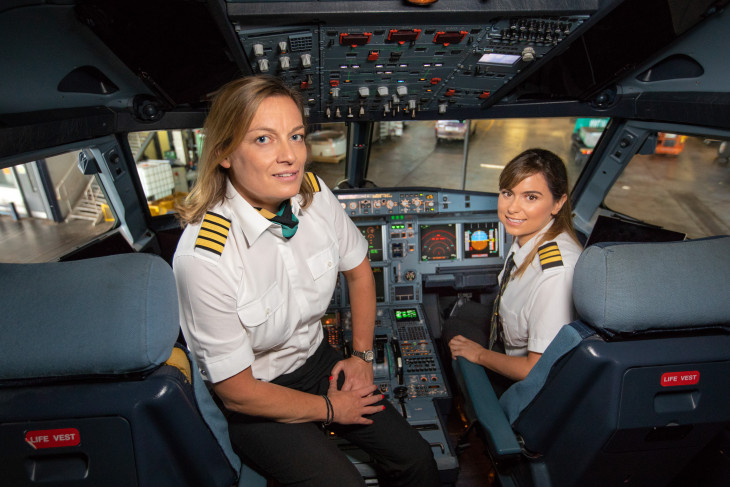 Female Pilot