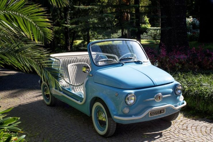 Hertz Italy Adds Fiat 500 Jolly Spiaggina Icon E By Garage Italia