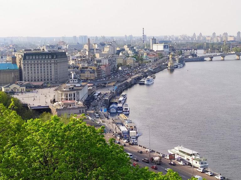 Kyiv view