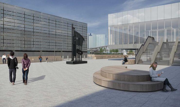 new terminal building Copenhagen Airport