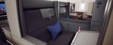 New Business Class Seat
