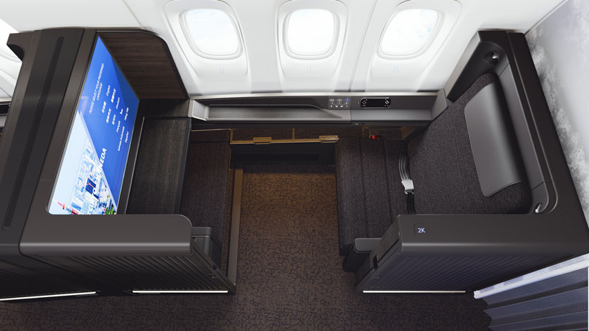 New First Class Seat