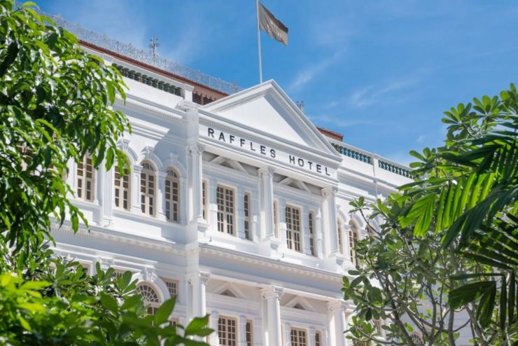 Raffles Singapore new hotels in Singapore