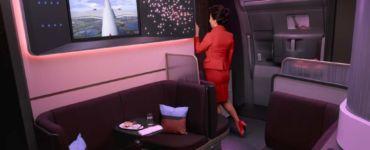 Virgin Atlantic the loft