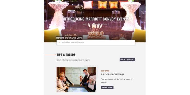 Marriott BonvoyTM Events